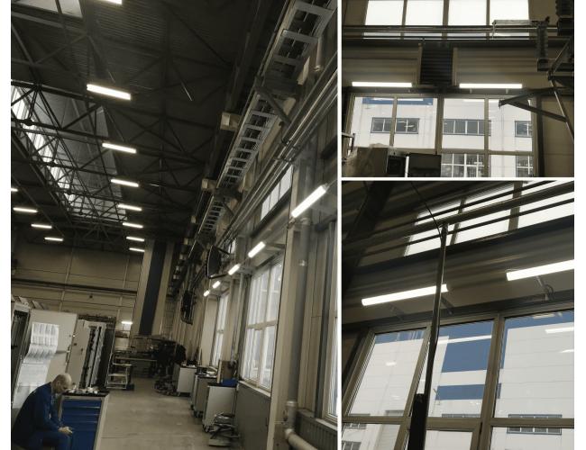 Освещение НИИ ЭФА-Энерго