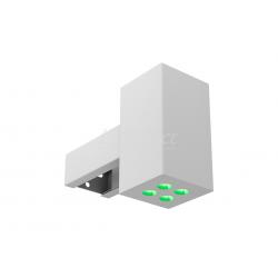 Светильник КУБИК RGBW 10 Вт (Г55+12˚) светодиодный (LE-СБУ-47-010-3096-67RGBW)