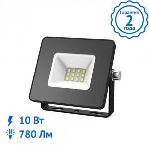 Прожектор Gauss Elementary 10W 780lm IP65 6500К светодиодный