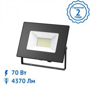 Прожектор Gauss Elementary 70W 4370lm IP65 6500К светодиодный