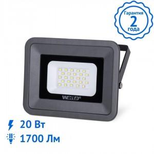 Прожектор WOLTA WFL-20W/06, 5500K, 20Вт, SMD, IP 65 светодиодный