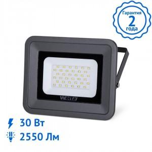 Прожектор WOLTA WFL-30W/06, 5500K, 30W SMD, IP 65 светодиодный