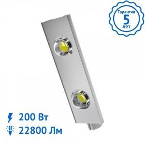 Уличный светильник ALFA-200 Вт светодиодный