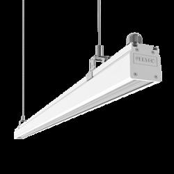 Светильник Вартон Mercury Mall IP54 1450x54x58 мм опал 42W 4000К бел. RAL9003 авар. автономный постоянного действия Teletest светодиодный Арт. V1-R0-00380-31ATO-5404240