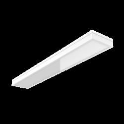 Светильник LED Вартон накл. 1195*180*55 мм с опаловым рассеивателем 54 ВТ 4000К IP54 авар. автономный постоянного действия светодиодный Арт. V1-C0-00280-20A00-5405440