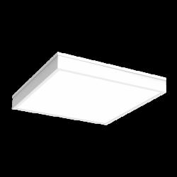 Светильник Вартон IP54 накл. 595*595*55 мм с опаловым рассеивателем 54 ВТ 4000К авар. автономный постоянного действия светодиодный Арт. V1-C0-00080-20A00-5405440