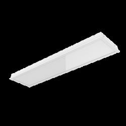 Светильник Вартон для потолков Rockfon c кромкой X 1200*300*70мм 50ВТ 4000К с равномерной засветкой с рассеивателем опал светодиодный Арт. V1-A5-00402-10HG0-2005040