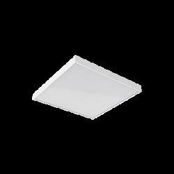 Светильник Вартон офисный встр./накл. 595*595*50мм 35 ВТ 4000К с рассеивателем призма DALI светодиодный Арт. D1-A0-00070-01GD3-4003540