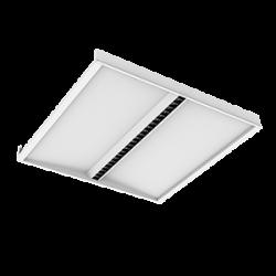 Светильник Вартон SOFT/OT Comfort офисный встр. 595*595*50мм 30 ВТ 4000К IP20 отраженного света, угол 65 град., UGR светодиодный Арт. V1-A0-O0558-10D01-2003040