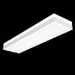 Светильник Вартон офисный накл. 1200*310*55 мм 50 ВТ 4000К с равномерной засветкой рассеиватель опал IP40 диммируемый по протоколу DALI светодиодный Арт. V1-A0-20350-01HGD-4005040