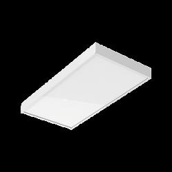Светильник Вартон A370 2.0 офисный встр./накл. 595*295*50мм 30 ВТ 3000К IP40 с рассеивателем опал диммируемый по протоколу DALI светодиодный Арт. V1-A0-00370-01OPD-4003030