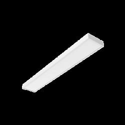Светильник Вартон A270 2.0 офисный встр./накл. 45 Вт 3000К 1195*180*50 мм IP40 с опаловым рассеивателем DALI бел. светодиодный Арт. V1-A0-00270-01OPD-4004530