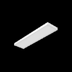 Светильник Вартон A350 2.0 офисный встр./накл. 30 Вт 3000К 1195*295*50мм IP40 с призматическим рассеивателем DALI бел. светодиодный Арт. V1-A0-00350-01PRD-4003030