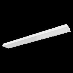 Светильник Вартон офисный A470 встр./накл. 35 Вт 4000К 1495*180*50 мм IP40 диммируемый по протоколу DALI светодиодный Арт. V1-A0-00463-01D01-4003540