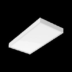 Светильник Вартон A370 2.0 офисный встр./накл. 595*295*50мм 30 ВТ 3000К IP40 с призматическим рассеивателем светодиодный Арт. V1-A0-00370-01PR0-4003030