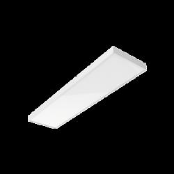 Светильник Вартон A350 2.0 офисный встр./накл. 30 Вт 6500К 1195*295*50мм IP40 с опаловым рассеивателем DALI бел. светодиодный Арт. V1-A0-00350-01OPD-4003065