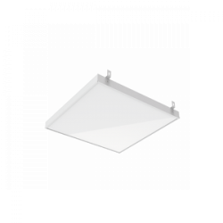 Светильник Вартон GR070 2.0 588*588*50мм 45 ВТ 4000К с планками для подвеса с рассеивателем опал DALI IP40 светодиодный Арт. V1-R3-00010-31OPD-2004540