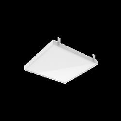 Светильник Вартон GR070 2.0 45 Вт 3000К 588*588*50 мм с планками для подвеса с опаловым рассеивателем DALI бел. IP40 светодиодный Арт. V1-R3-00010-31OPD-2004530