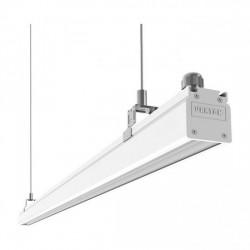 Светильник Вартон Mercury Mall IP54 740x54x58 мм линза 89°x115 30W 4000К бел. RAL9003 светодиодный Арт. V1-R0-00566-31L12-5403040