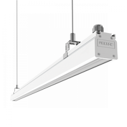 Светильник Вартон Mercury Mall IP54 1450x54x58 мм 89°x115° 76W 4000К бел. RAL9003 светодиодный Арт. V1-R0-00380-31L12-5407640