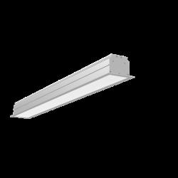 Светильник Вартон Universal-Line встр. 860*100*69мм 30Вт 3000К IP40 металлик DALI светодиодный Арт. V1-A1-70413-10D01-4003830