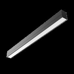 Светильник Т-ЛАЙН Вартон 1170х70х90мм 36 ВТ 4000К RAL9005 черн. матовый одиночный светодиодный Арт. V1-R0-T0033-02000-2003640
